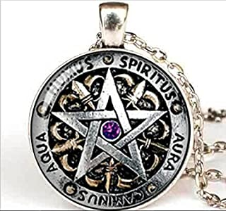 wiccan protection pendant