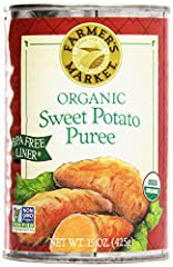 Certified Organic Sweet Potato Puree Grown in the USA The Very Best for Pies, Baking, and Soups