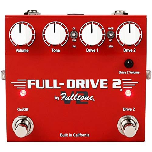 Fulltone Full-Drive 2 V2 Overdrive FX Pedal