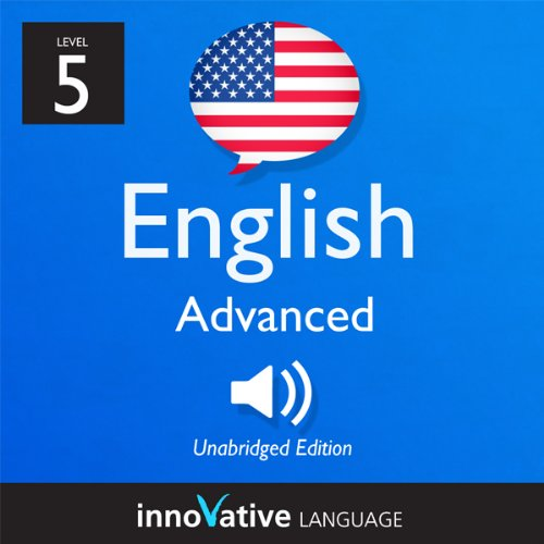 Learn English - Level 5: Advanced English, Volume 2: Lessons 1-25 audiobook cover art
