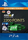 FIFA 18 Ultimate Team - 2200 FIFA Points | PS4 Download Code - deutsches Konto
