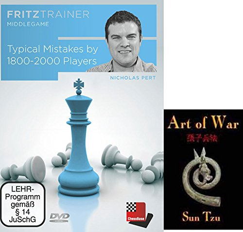 Price comparison product image Typical Mistakes by 1800-2000 Players Chess Traing DVD