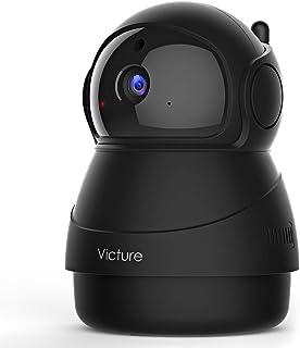 Victure 1080P Cámara IP WiFi,Cámara de Vigilancia FHD con Visión Nocturna,Cámara de Mascota,Detección de Movimiento,Audio ...
