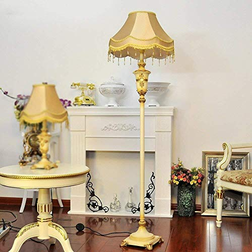 BINGFANG-W Dormitorio Led simple creativa moderna Lámpara de piso, sala de estar Lámpara de pie, Lámpara de piso dormitorio Estudio de la lámpara retro europeo de lujo, Eye-Cuidado Vertical luz del pi