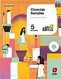 Ciencias sociales. 5 Primaria. Más Savia. Madrid