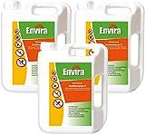 Envira Universal Insektenschutz - Hochwirksames Insekten-Spray Mit Langzeitschutz - Auf Wasserbasis - 3x2Ltr