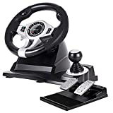 Tracer Roadster 4 in 1 Lenkrad für PC/PS3/PS4/Xone 2-Pedalset Ganghebel 270-Grad-Rotationswinkel