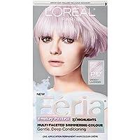 ロレアル ヘアカラー L'Oreal Paris Feria Pastels Hair Color, P12 Lavender Dusk スモーキーラベンダー