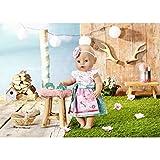 Zapf Creation 828748 BABY born Dirndl  Puppenkleidung für besondere Anlässe und Feste, 43 cm,...
