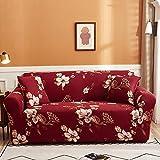 PPMP Funda de sofá elástica para Sala de Estar Funda de sofá elástica Funda de sofá elástica Funda de sillón de Esquina en Forma de L A12 2 plazas