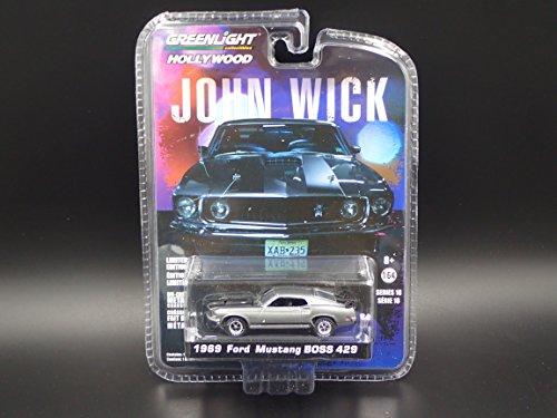 Greenlight 1/64 Hollywood Series 18 John Wick Movie (2014) 1969 Ford Mustang Boss 429 Die Cast Vehicle
