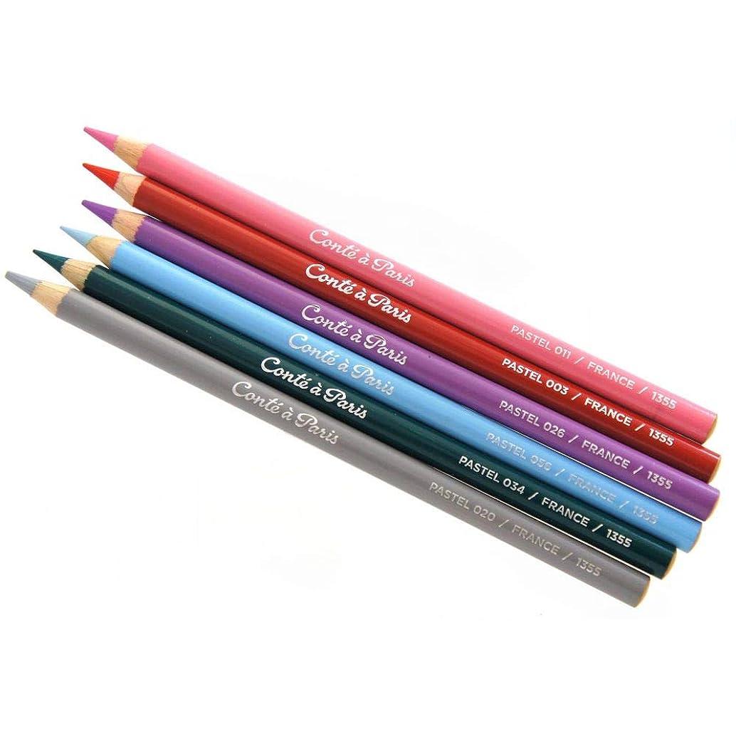 Conte Pastel Pencils - 009 Black