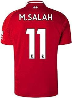 YTDL Liverpool Home Red Soccer Jerseys 2018/2019 Season #11 M Salah Mens Jerseys