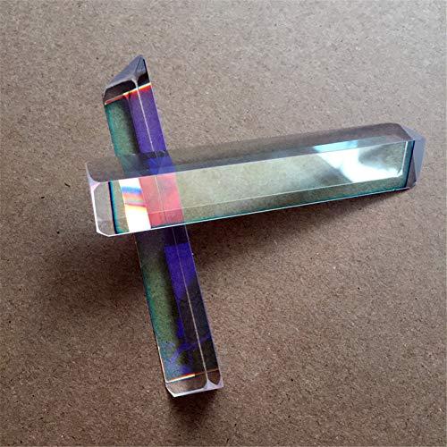 Toltec Lighting Optisches Glas K9 Prisma Unterrichtsexperiment Bunter Sonnenschein 30Mm Gleichseitiges Prisma Unterricht Regenbogen Fotofotografie Filter Dreieck Prisma Experiment Prisma