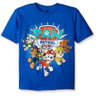 Paw Patrol Boys' Group Short Sleeve T-Shirt