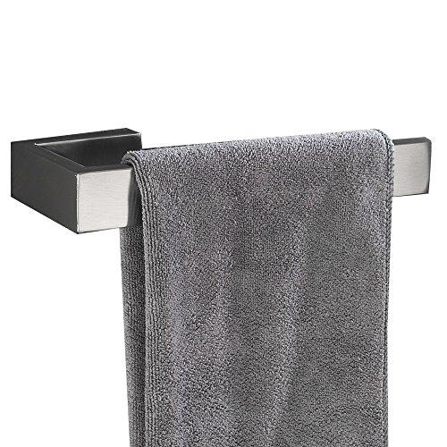 Flybath Handtuchring SUS 304 Edelstahl Gebürstetes Silber Handtuchhalter Wandmontage