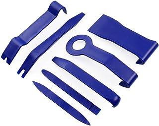 JUNING Dörrpanel borttagningsverktyg för att ta bort autopaneler, trim, instrumentpanelen, dörren, installera ett nytt bil...