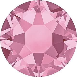 Swarovski 2000, 2038 & 2078 Flatback Crystals Hotfix Light Rose | SS34 (7.2mm) - 144 Crystals (Wholesale) | Small & Wholesale Packs