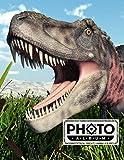Photo Album: Large Photo Albums with Writing Space Memo, Extra Large Capacity Picture Album   Premium Dinosaur Tarbosaurus Cover by Ronny Kellner