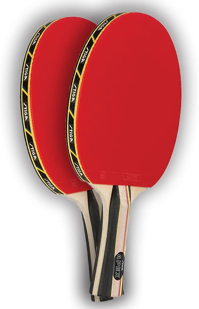 STIGA EVOLUTION Premium Ping Pong Table Tennis Paddle Racket NEW Lot 2 Paddles