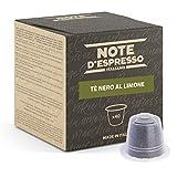 Note d'Espresso - Cápsulas de Té Negro al Limón - Compatibles con Cafeteras Nespresso*