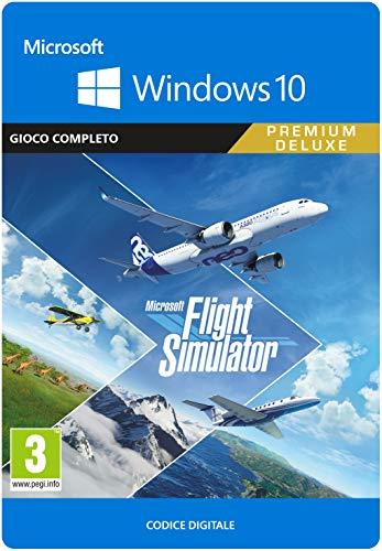 Microsoft Flight Simulator Premium Deluxe Edition, Codice per PC, Windows 10