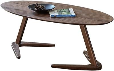 Huahua Furniture Mesa de Centro,Mesita de Café, Mesa Lateral Fin ...