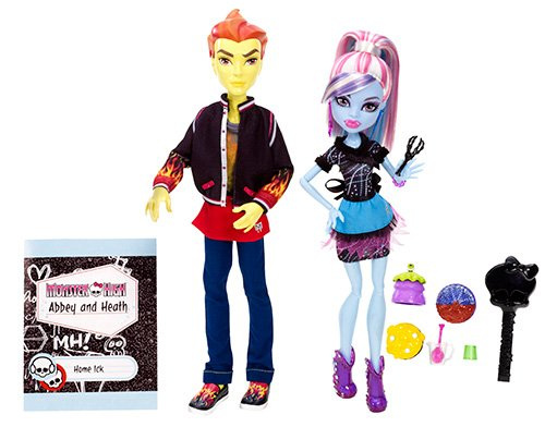 Monster High - Pareja abominable: Abbey Bominable y Heath Burns/ Thomas Cramé compañeros de cocina (Mattel BBC82)
