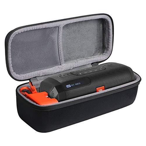 co2CREA Harte reiseschutzhülle Etui Tasche für JBL Tuner Radiorekorder Tragbarer Bluetooth Lautsprecher(Nur hülle)