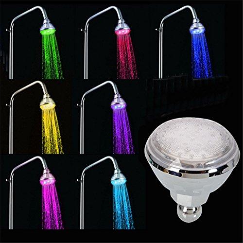 Générique 7 couleurs la lumière : 7 couleurs Progressivement la décoloration vente directe d'usine d'eau d'alimentation LED plafond Pomme de douche