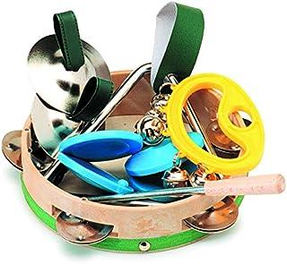 gitre 5005/PN Triángulo con lujoso del paquete de 4instrumentos de percusión Otros rhythmical y Mini Set