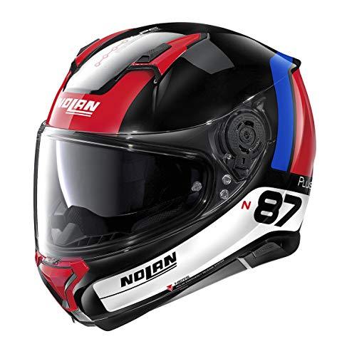 Nolan - Casco N87 P Distinctive N-C Glossy Black XL