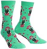Sock It To Me - Damen Socken Punk Poodle - lustige Damen Socken mit Pudel H& Gr.37-42 One Size