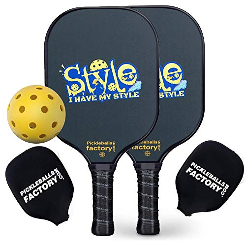 Paleta de Pickleball Pickleball Raqueta Pickleball Bolas, Pickleball, Pickleball Pelotas, Pickleball Palas, I Have MY Style Pickleballs, Pickle Ball Rackets, Padel Racket