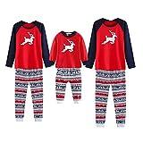 Weihnachten Familiepyjamas Set Nachtwäsche Homewear