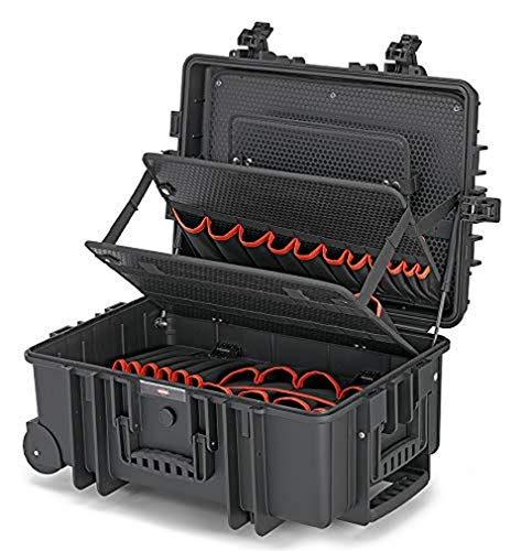 KNIPEX Maleta de herramientas 'Robust45 Move' vacía 00 21 37 LE