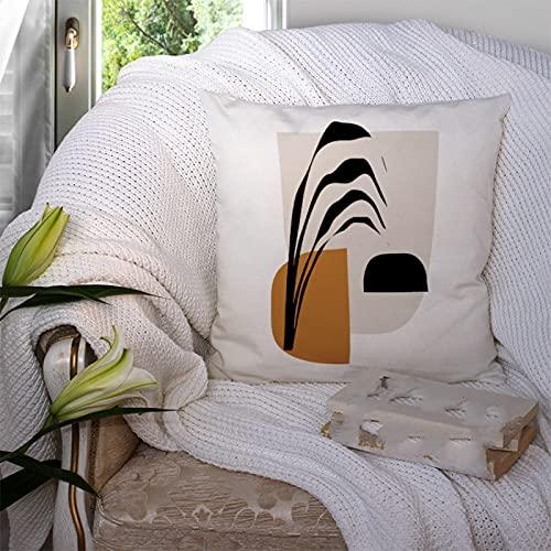 KLily Funda De Almohada Decorativa Simple Cojín De Almohada De Yoga Funda De Almohada para La Siesta En El Hogar Asiento De Oficina Cojín De Almohada Lumbar