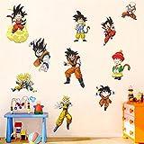 Dragon Bal Wall Sticker Children's Cartoon Bedroom...