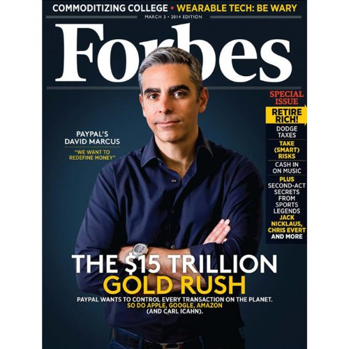 Forbes, February 17, 2014 audiobook cover art