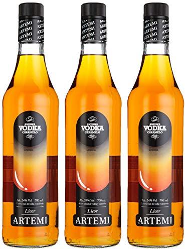 Artemi Licor Vodka Caramelo, Liköre (3 x 0.7 l)