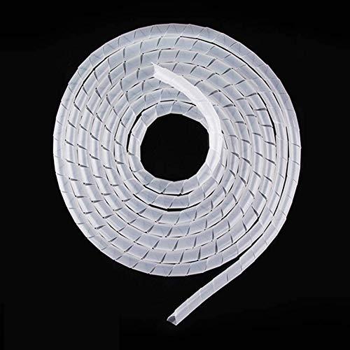 YIXISI Organizador de Cables en Espiral,Tubo de La Envoltura del Cable para...