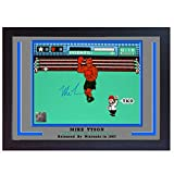 S&E DESING Mike Tyson Boxing Autograph Poster Signed Print Photo Nintendo Punch-Out Framed