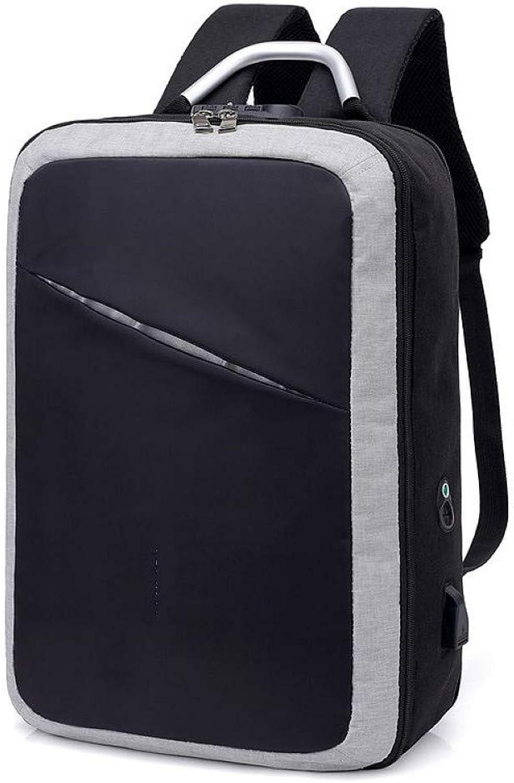 HUYANNABAO Anti-Thief USB Recharging Men Backpack Travel TSA Lock Design Business School Bags Fashion Message Computer Back Pack