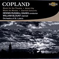 Music for the Theatre by A. Copland (2009-04-14)
