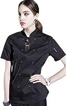 Women's Chef Uniform Long Sleeves Decoration Hotel Summer Western Restaurant Chef Coat