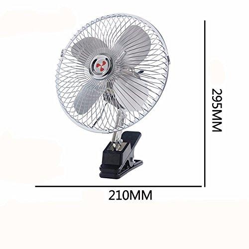 JISHUQICHEFUWU Ventilateur 8 Pouces 12 V Ventilateur/Voiture/pièces Auto/Fournitures été