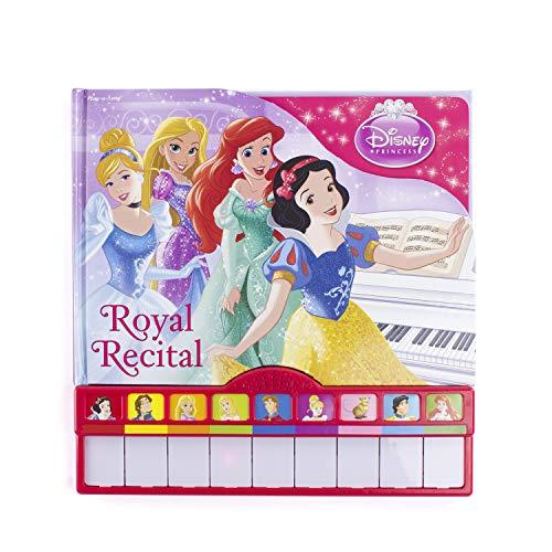 Disney Princess - Royal Recital Board Book with Built-In Keyboard Piano - PI Kids