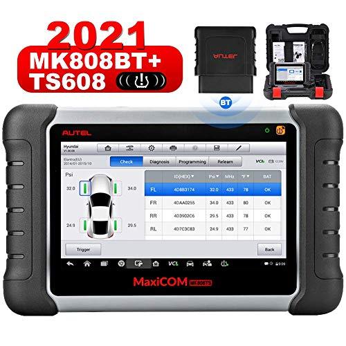 2021 Newest Autel Scanner MaxiCOM MK808TS, Combination of Autel MK808BT and TS608, OE-Level TPMS...