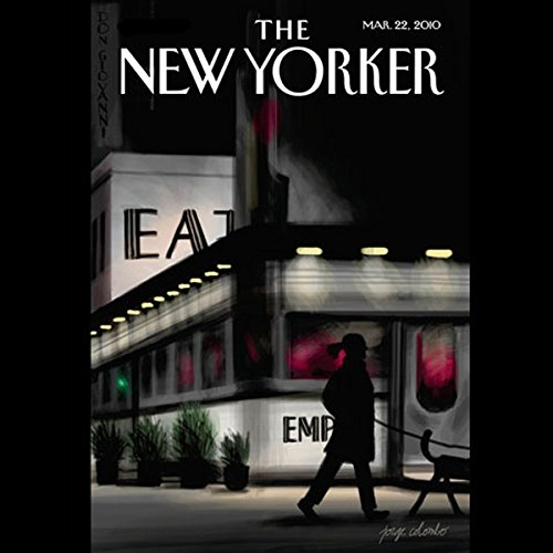 The New Yorker, March 22, 2010 (Jeffrey Toobin, Elizabeth Kolbert, John McPhee) cover art