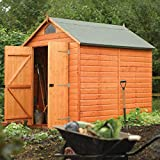 Rowlinson Secure Storage Shed, 8' x 6'